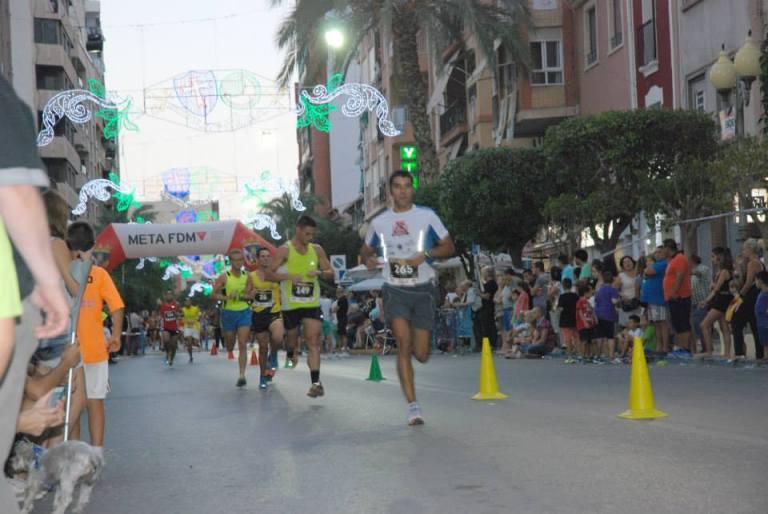 Jorge Mañez, cuarto clasificado de la prueba y primer atleta local