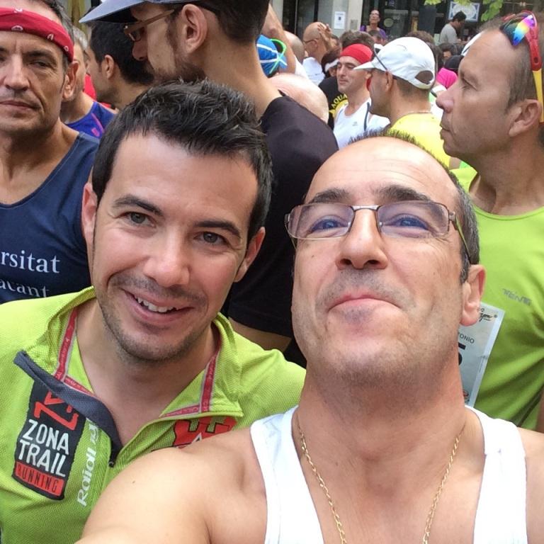Tony Flor y Ángel Granizo