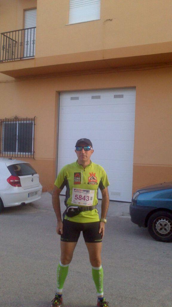 Emilio Alcaraz listo para correr