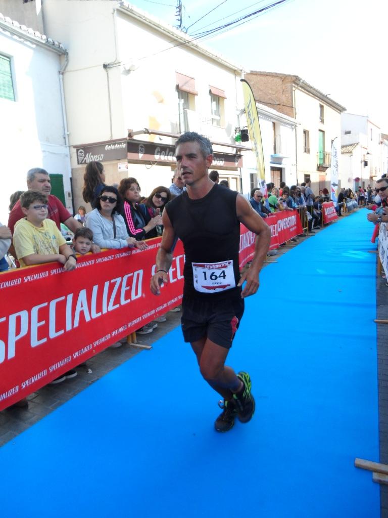 Juan José Malpica entrando en meta