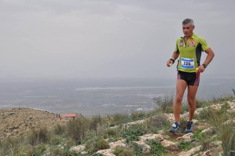 Juan José Malpica durante la carrera