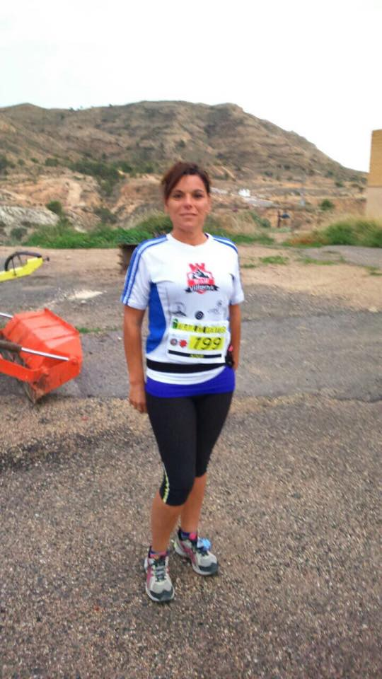 Quina Amorós, la primera chica que debuta con Trail Villena