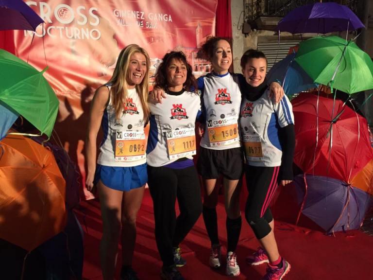 Gran actuación de las chicas de Trail Villena en Sax