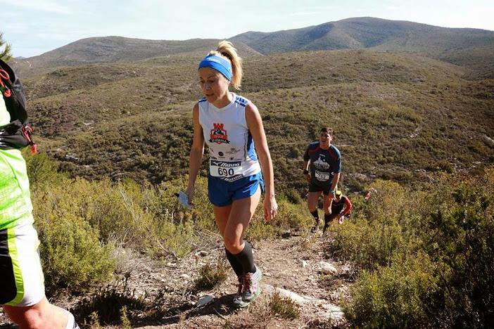 Irene Gil, segunda clasificada veterana en la modalidad de 22km