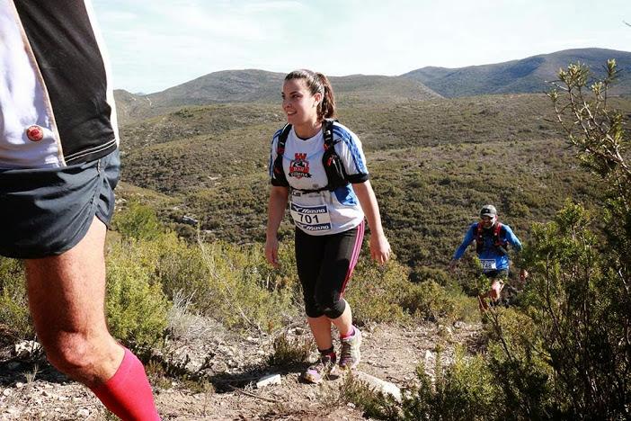 María Ángeles Gabaldón, cuarta en su categoría en la modalidad de 22km