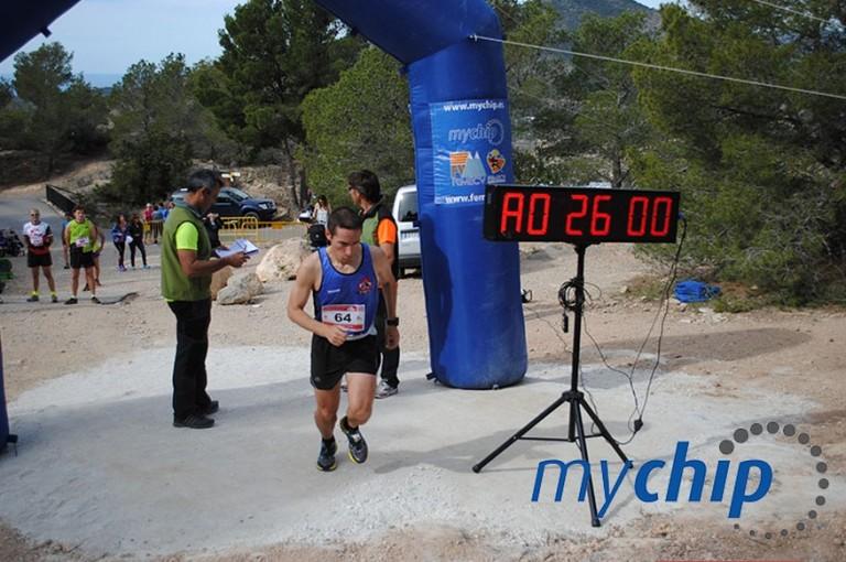 Sebastián Soriano tras darse su salida cronometrada