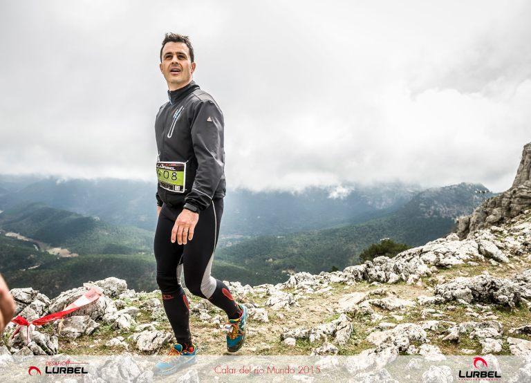 Ricardo Palero, a su paso por el alto del Padroncillo