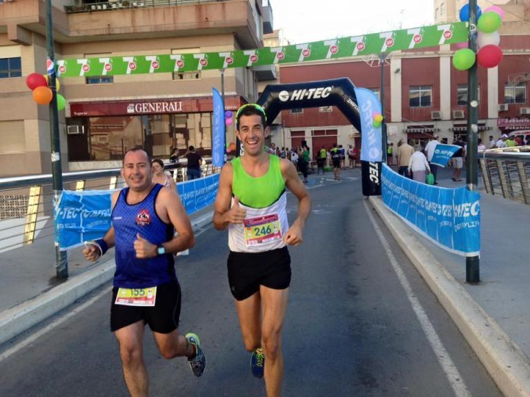 José María González durante la carrera