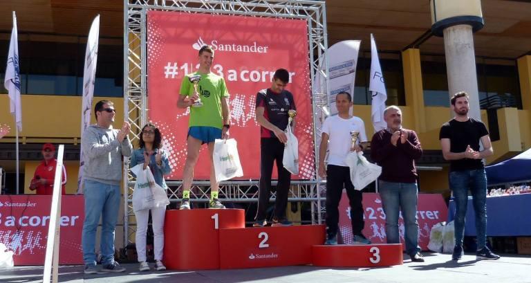 Miguel podium