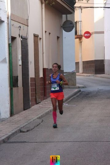 Alba durante la carrera