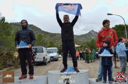 Migue en el podium