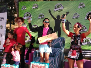 Podium femenino absoluto