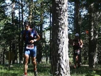 Paso por bosque durante la carrera