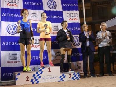 eva sax podium