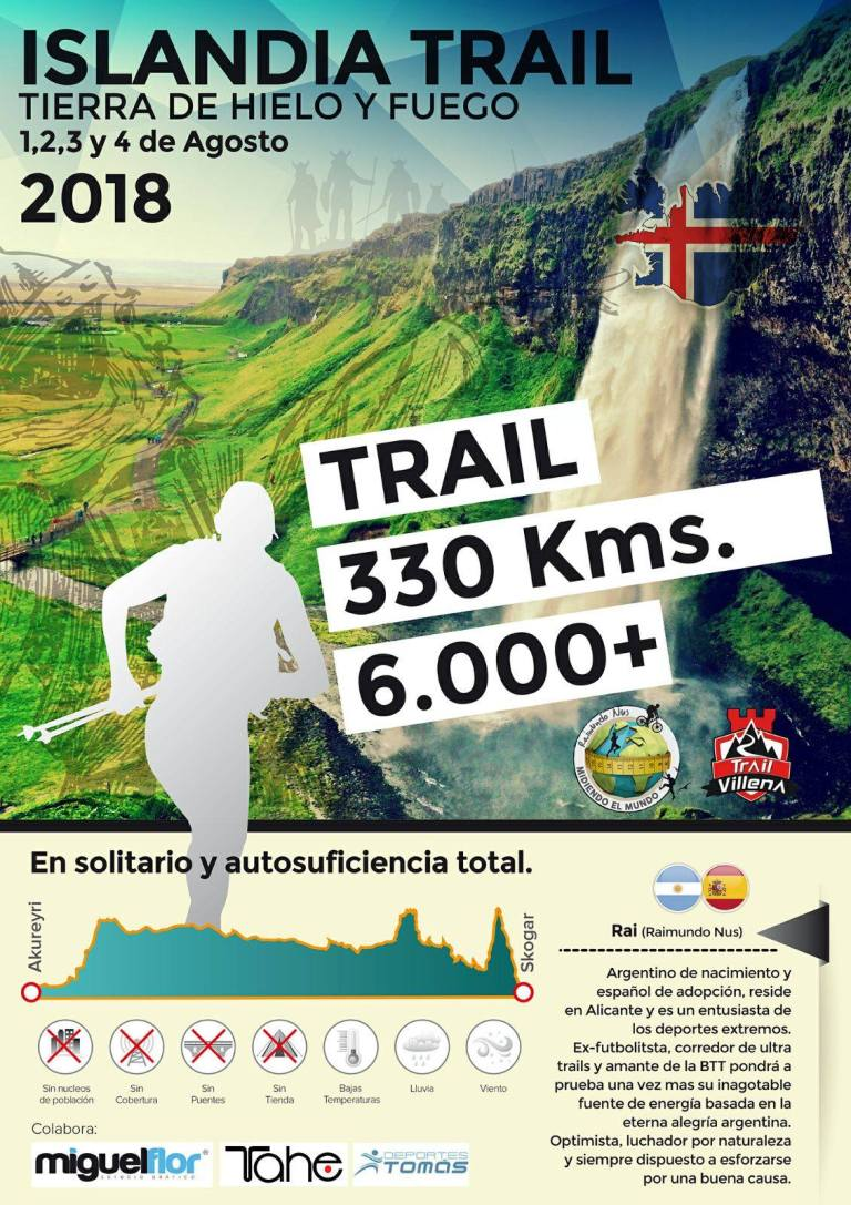 Cartel Islandia trail
