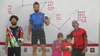 José Antonio Mena en el podio