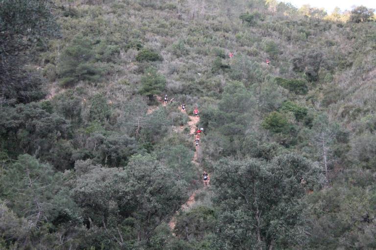 vistas de la primera bajada