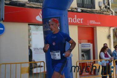 Juan José Malpica llegando a meta
