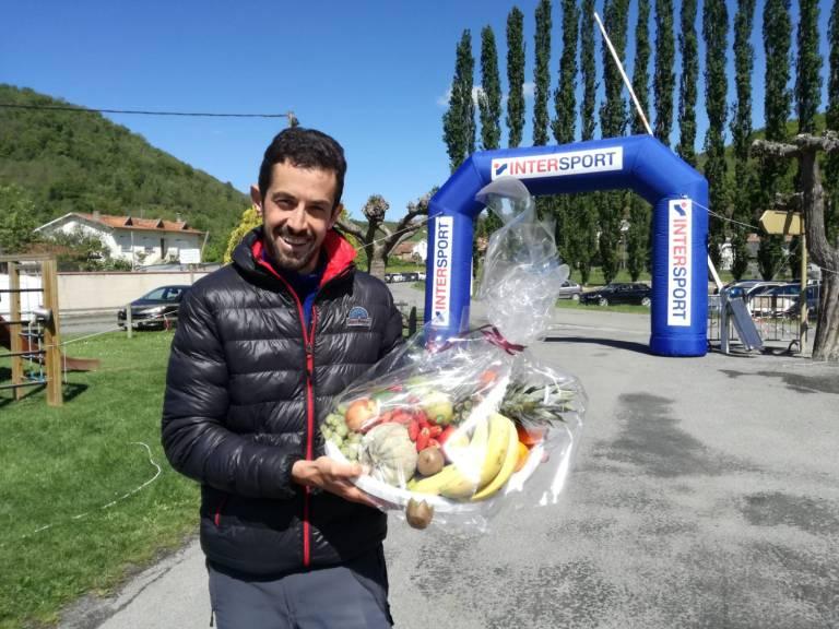 Juan Navalón con el premio