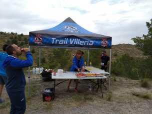 Avituallamiento gestionado por CDME Trail Villena