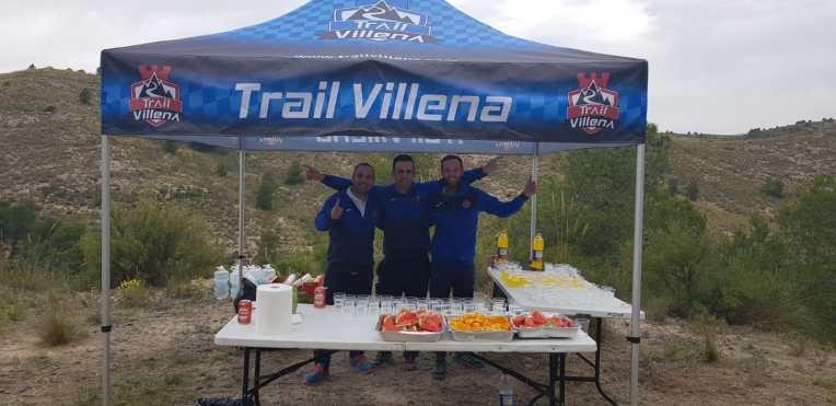 Carpa de CDME Trail Villena