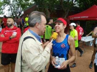 Eva entrevistada en Radio Villena Cadena Ser
