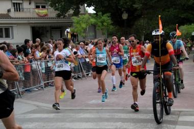 María Ángeles Gabaldón junto a la vencedora