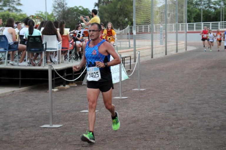 Vicente llegando a meta