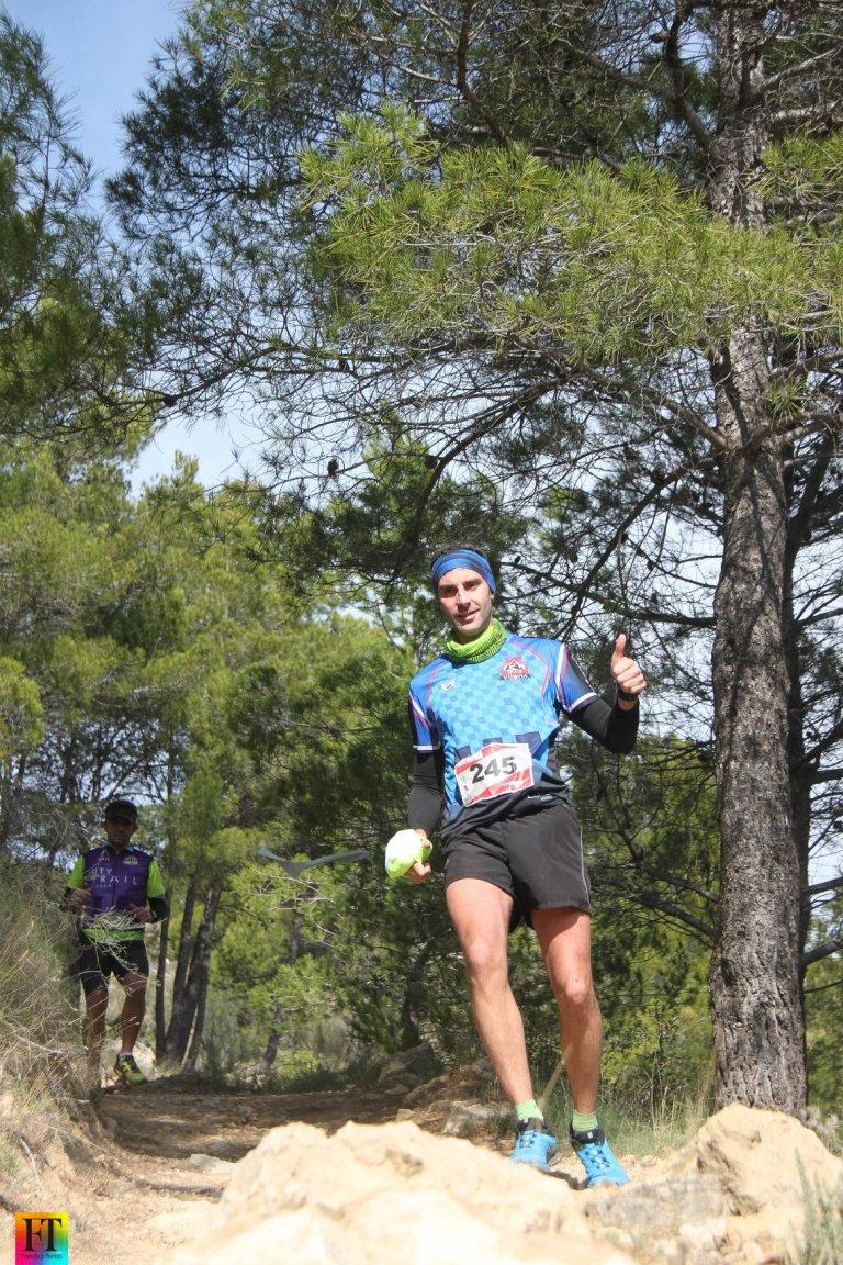 José Cañizares Flor en la bajada final