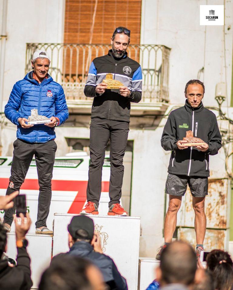 Juan José Malpica en el podio