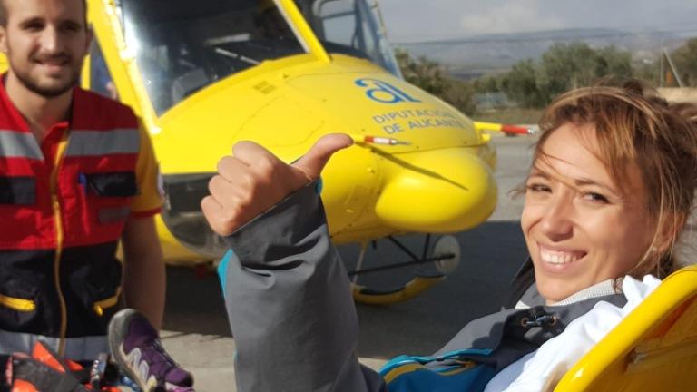 Araceli helicoptero