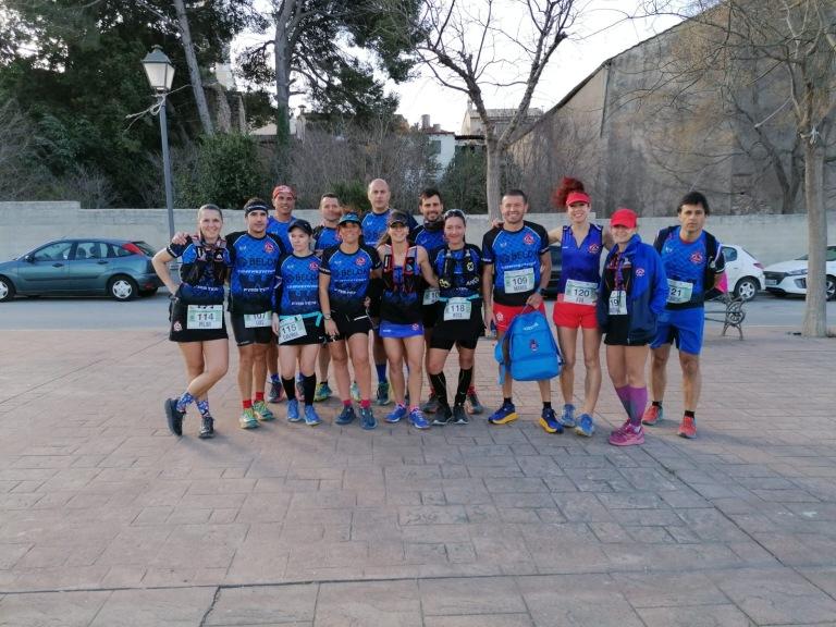 Equipo CDME Trail Villena 2